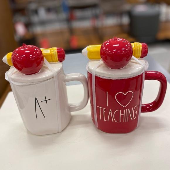 rae dunn 2 mugs